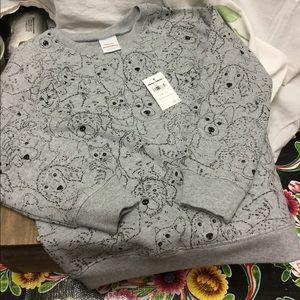 Hanna Anderson Dog Sweatshirt NWT B8